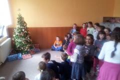 Dárečky ve školní družině, prosinec 2014