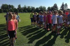 Sportovní den žáků prvního stupně  - Věř
