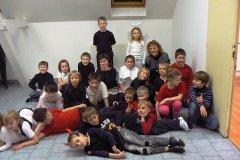 Vánoční besídka II. třídy, 19.12.2013