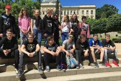 Výlet IX. třídy - Kutná Hora, květen 201
