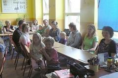 III. třída s rodiči, červen 2011