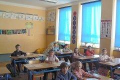 Pololetní vysvědčení 2011 v I. třídě