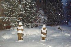 V. třída na sněhu, prosinec 2010