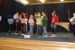 Koncert V. třídy, prosinec 2010