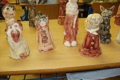 Keramika, V. třída, prosinec 2010