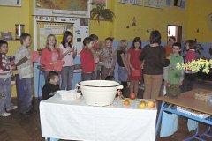 Vánoční dílna v V. třídě, 2009
