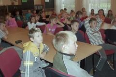 Beseda s kronikářkou obce, říjen 2009